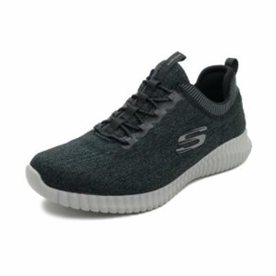 スニーカー スケッチャーズ SKECHERS ELITE FLEX HARTNELL ブラック/グレー レディース シューズ 靴 20SP