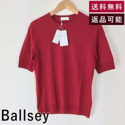 【中古】ボールジィ  Ballsey  スーパーファインウール クルーネックプルオーバー  半袖 e0308y003-e0322