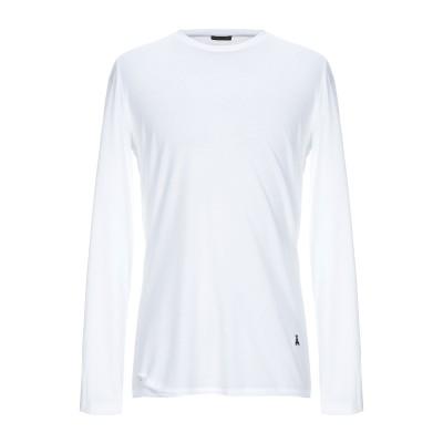 パトリツィア ペペ PATRIZIA PEPE T シャツ ホワイト S テンセル 67% / コットン 33% T シャツ