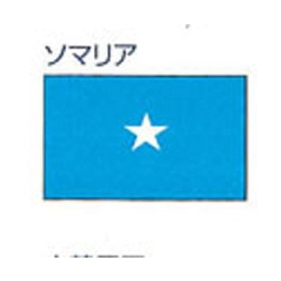 外国旗 卓上旗 12×18ソマリア絹羽二重旗 フラッグ FLAG