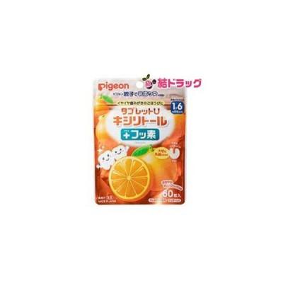 タブレットU+フッ素オレンジミックス味60粒【メール便対応商品・2個まで】【代金引換・日時指定不可】