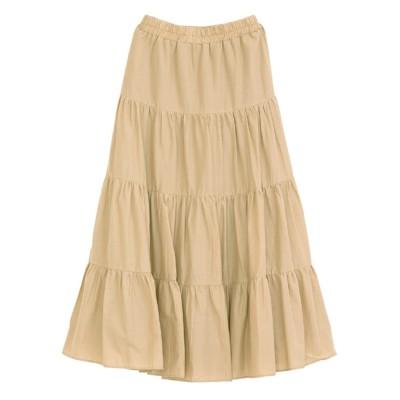 【ティティベイト/titivate】 コットンティアードスカート