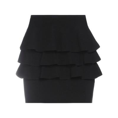 VICOLO ミニスカート ブラック one size レーヨン 70% / ポリエステル 30% ミニスカート