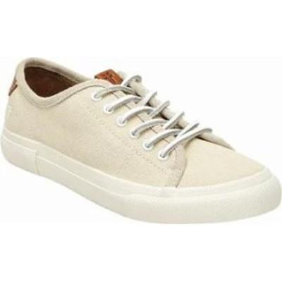 Frye レディーススニーカー Frye Gia Low Lace Sneaker Off White Canvas