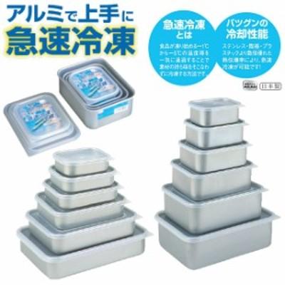 保存容器 日本製 アカオアルミ クイッキー 浅型ミニ 急速冷凍保存容器 保存容器 YOUNG zone 最安