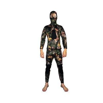 LayaTone Full Wetsuit Men Premium 3mm Super Stretch Neoprene Suits Spearfishing Suit Scuba Diving Suit Two Piece Fullsuit Freediving Jumpsui