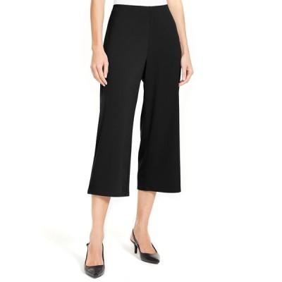 アルファニ カジュアルパンツ ボトムス レディース Pull-On Culotte Pants,  Deep Black