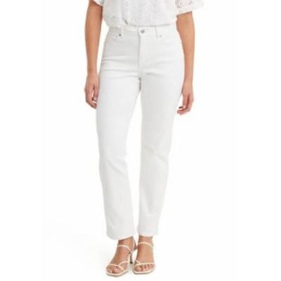 リーバイス レディース デニムパンツ ボトムス CLASSIC STRAIGHT SIMPLY WHITE Simply White