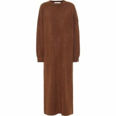 エクストリーム カシミア Extreme Cashmere レディース ワンピース ワンピース・ドレス Weird N? 106 Stretch-Cashmere Dress Rust