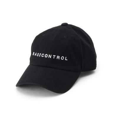 (BASECONTROL/ベースコントロール)ローキャップ ツイル ブランドロゴ 【WEB限定】/メンズ ブラック(019)