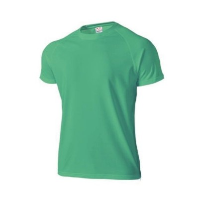 wundou(ウンドウ) 超軽量ドライラグランTシャツ ジュニア 半袖 男女兼用 無地 超軽量 吸汗速乾 P1000 ブライトグリーン 子どもサイズ