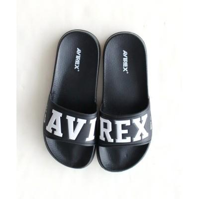 【アヴィレックス】 バンシー マークII/シャワーサンダル/BANSHEE MARK II レディース ブラック 24 AVIREX