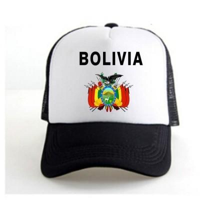 ボリビア BOLIVIA ベース ボール キャップ 野球帽 帽子 スポーツ プリント ロゴ テキスト 刺? デザイン カジュアル ソリッド ハット