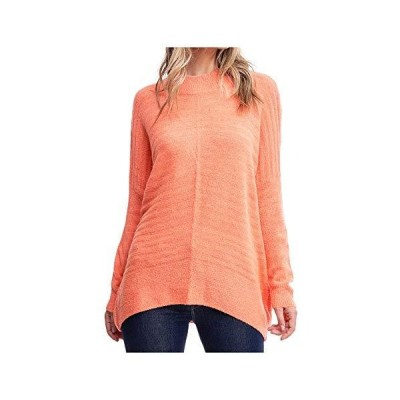 Sanctuary Womens Orange Soft Long Sleeve Scoop Neck Sweater Size XS並行輸入品 送料