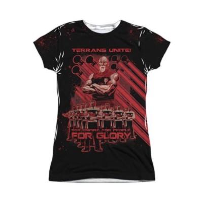Tシャツ スタートレック Star Trek Terrans Unite TNG Sublimation Junior T Shirt