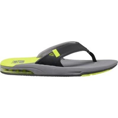 リーフ メンズ サンダル シューズ Reef Men's Fanning Low Sandals Grey/Lime