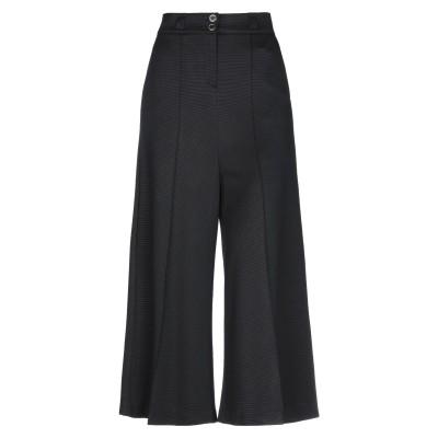 CRISTINAEFFE パンツ ブラック 50 レーヨン 82% / ナイロン 15% / ポリウレタン 3% パンツ