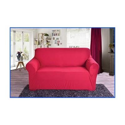 【新品】(Sofa, Ruby) - Elegant Comfort Collection Luxury Soft Furniture Jersey STRETCH SLIPCOVER, Sofa Ruby【並行輸入品】