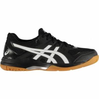 アシックス Asics メンズ スニーカー シューズ・靴 Gel Rocket Indoor Court Trainers BLACK/WHITE