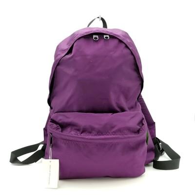 送料無料 新品 未使用 エルベシャプリエ Herve Chapelier リュックサック バックパック デイパック バッグ 鞄 ナイロン 紫系 レディース