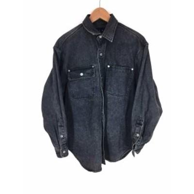 ラルフローレン RALPH LAUREN ワークシャツ サイズ9 メンズ 【中古】【ブランド古着バズストア】