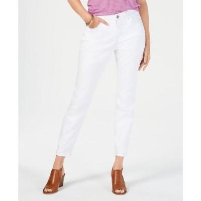 スタイル&コー Style & Co レディース ジーンズ・デニム ボトムス・パンツ Petite Power Sculpt Curvy Skinny Jeans Bright White
