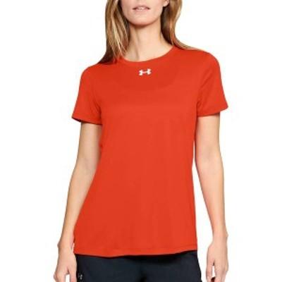 アンダーアーマー レディース シャツ トップス Under Armour Women's Locker 2.0 T-Shirt Dark Orange