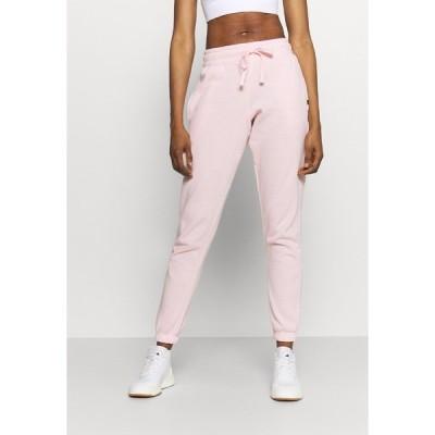 コットン オン ボディ カジュアルパンツ レディース ボトムス LIFESTYLE GYM TRACK PANTS - Tracksuit bottoms - pink sherbet