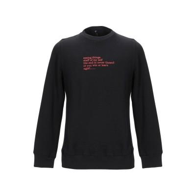 NAGUSTYLE スウェットシャツ ブラック L コットン 100% スウェットシャツ