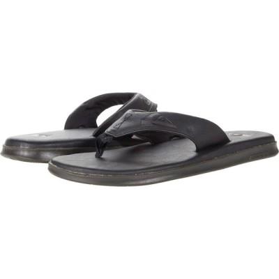 クイックシルバー Quiksilver メンズ シューズ・靴 Haleiwa Plus Nubuck Solid Black