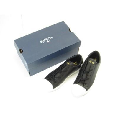 未使用品!! CONVERSE コンバース ALL STAR COUPE LEATHER OX 31300291 27.5cm スニーカー 靴 #UT6526