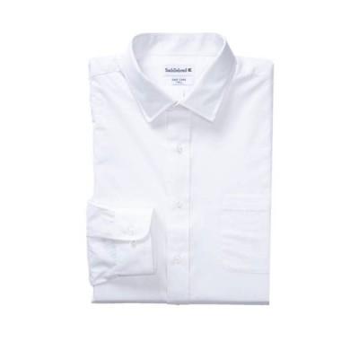 サドルブレッド メンズ シャツ トップス Big & Tall Long Sleeve Easy Care Stretch Collar Dress Shirt