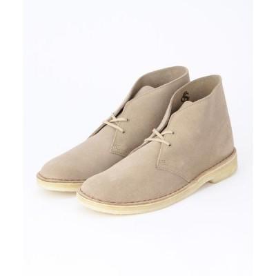 ブーツ CLARKS: スエード デザートブーツ