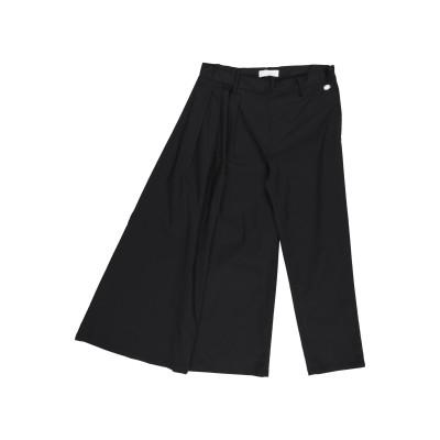 ビブロス BYBLOS パンツ ブラック 8 コットン 97% / ポリウレタン 3% パンツ