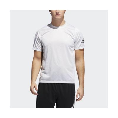 【販売主:スポーツオーソリティ】 アディダス/メンズ/M4T STRONG ストレッチウーブンキカガクグラフィックTシャツ メンズ ホワイト/ローホワイトS19 S SPORTS AUTHORITY