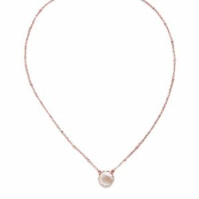 Sorrelli Isabella Pendant Necklace, Rose Gold-Tone Finish, Crystal
