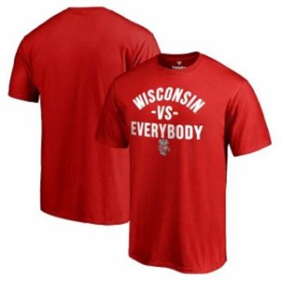 Fanatics Branded ファナティクス ブランド スポーツ用品  Fanatics Branded Wisconsin Badgers Red Team vs. Everybod