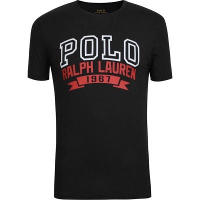 ラルフ ローレン POLO RALPH LAUREN メンズ Tシャツ ロゴTシャツ トップス Logo T Shirt Polo Black