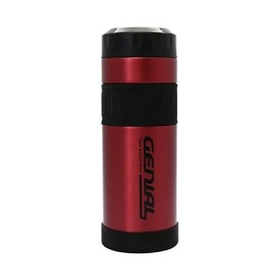 タフコ 魔法瓶 直飲み ステンレスボトル ジュニアル マグカップ カシス 800ml F-2642 (レッド)