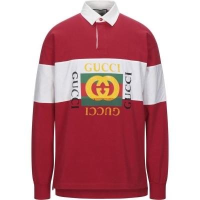 グッチ GUCCI メンズ ポロシャツ トップス polo shirt Red
