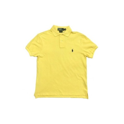 【 セール SALE 】 ポロ ラルフローレン POLO RALPH LAUREN オリジナル カスタムフィット ポロシャツ ORIGINAL CUSTAM FIT S/S POLO SHIRTS [YELLOW]