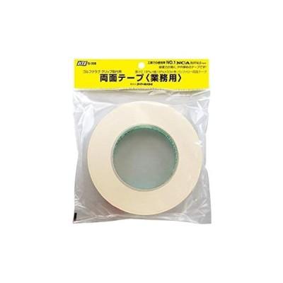 ライト(LITE) バッファロー両面テープ 業務用 G-338 厚:0.18mm,幅:19±1mm,(未使用品)