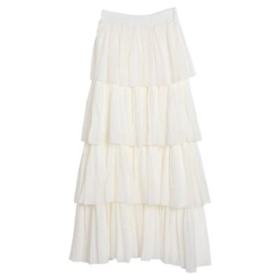 デパートメント 5 DEPARTMENT 5 ロングスカート ホワイト S コットン 100% ロングスカート