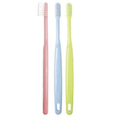 オキナオキナ エクサ歯科用歯ブラシ フラットやわらかめ 1箱(60本入)