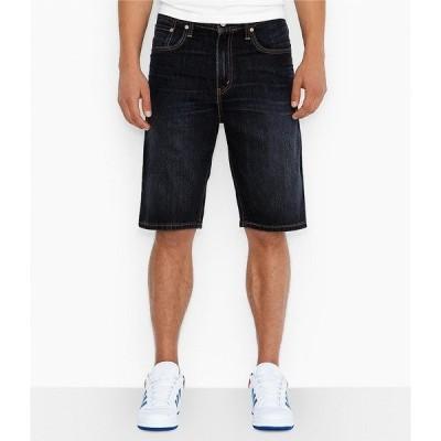 リーバイス メンズ ハーフ&ショーツ ボトムス Levi's Big & Tall 569 Loose Straight-Fit 12#double; Inseam Denim Jean Shorts HomeSpun Rinse