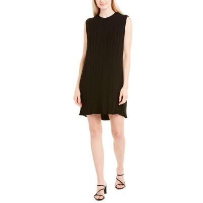 ザロウ ワンピース トップス レディース The Row Claudia Silk-Lined Shift Dress -