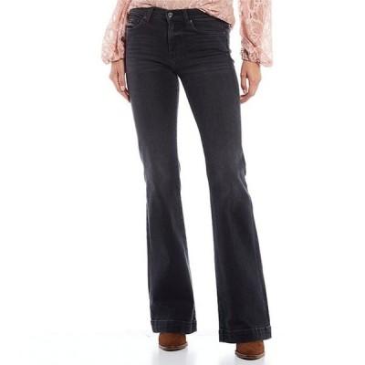 セブンフォーオールマンカインド レディース デニムパンツ ボトムス Dojo Flare Leg Jeans