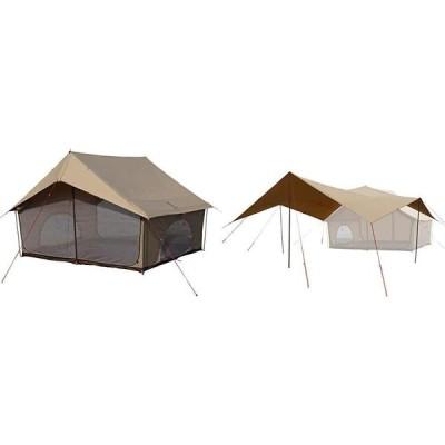 DOD(ディーオーディー) エイテント クラシックな外観の家型テント ポリコットン生地 T5-668-TN and ヒレタープ ポリコットン生地 エイ