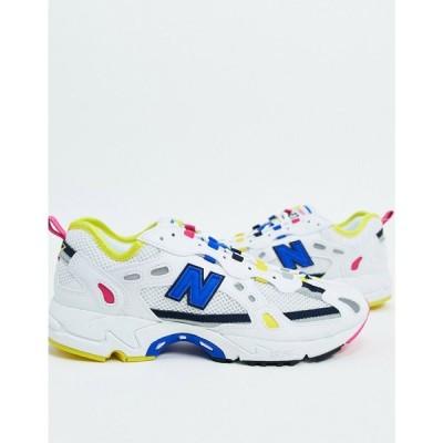 ニューバランス New Balance メンズ スニーカー シューズ・靴 New Balnance 827 Digital trainer in white