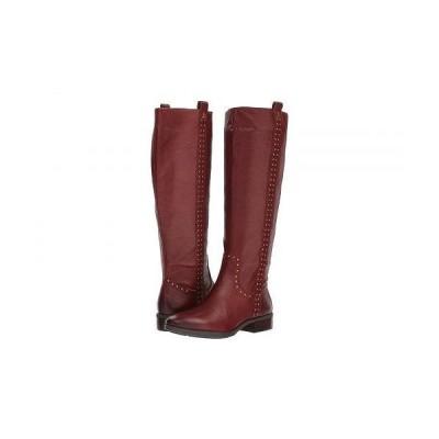 Sam Edelman サムエデルマン レディース 女性用 シューズ 靴 ブーツ ロングブーツ Prina Leather Tall Boot - Redwood Brown Neymar Leather